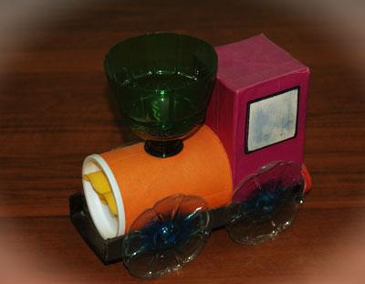 Поделки из подручных материалов для детей 3-4 лет